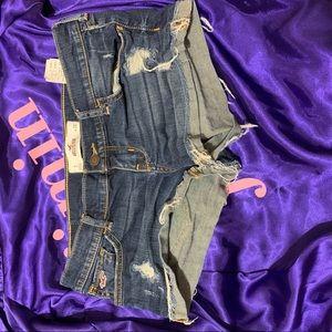Hollister Jean Shorts Size 3